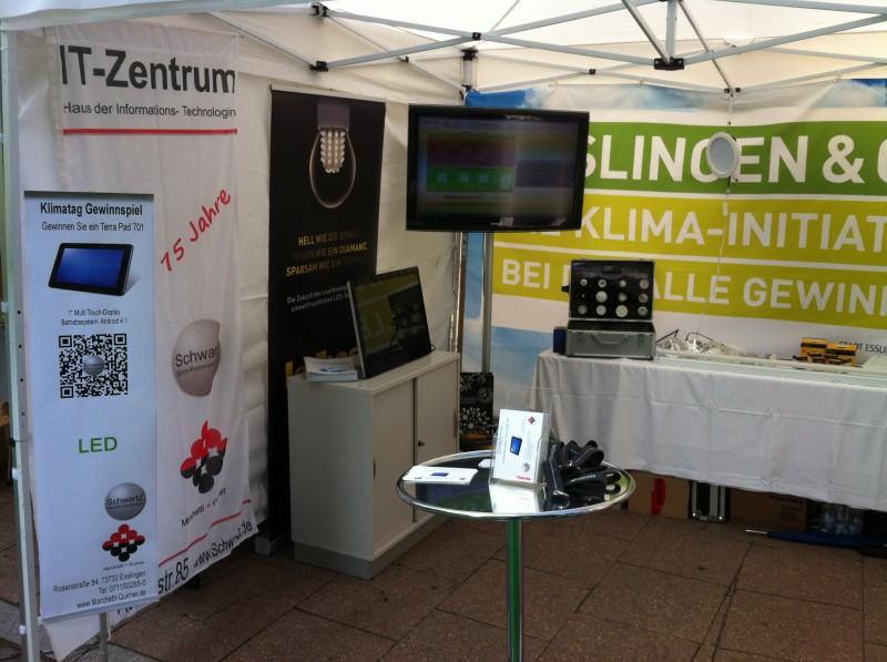 Unser Stand am Klimafest Esslingen